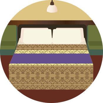 ベッドメイキングイメージ