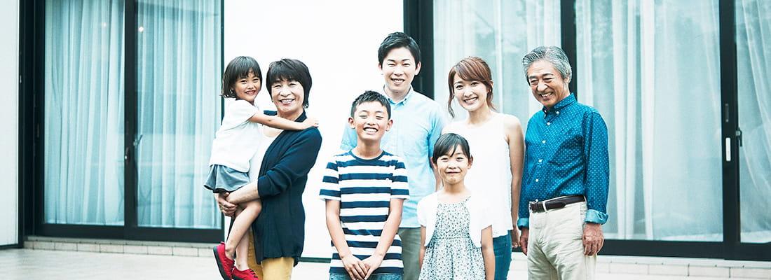 写真:家族イメージ