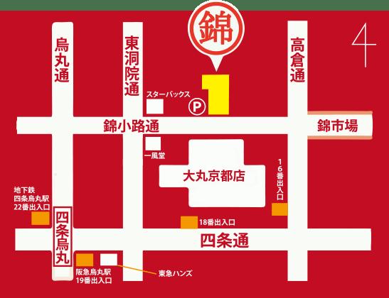 NIKUMON 地図