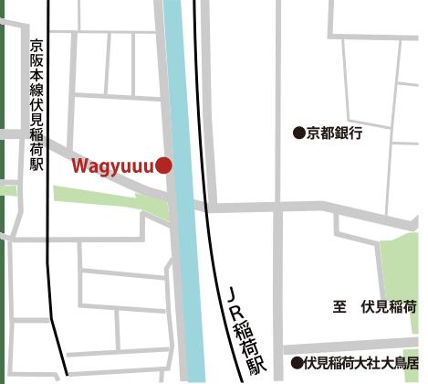 Wagyuuu 地図
